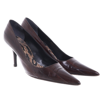 Dolce & Gabbana pumps made of eel leather