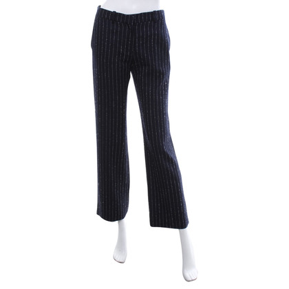 Acne trousers with stripe pattern