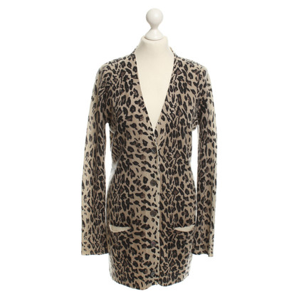 Allude Strickjacke im Animal-Design