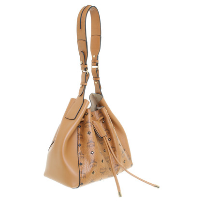 MCM Bucket bag with studs trim
