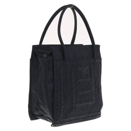 Prada Handtas in donkerblauw