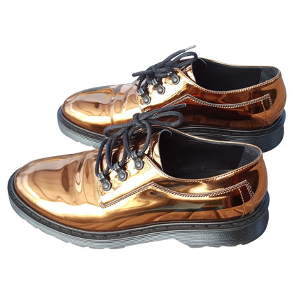 MM6 by Maison Margiela Lace-up shoes in bronze