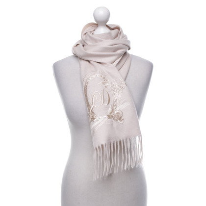 Christian Dior Cashmere scarf in pink