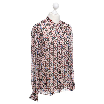 Dorothee Schumacher Silk blouse with floral pattern