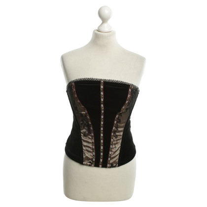 Schumacher Corset in black
