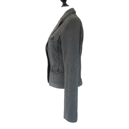 Closed Blazer in zwart/wit