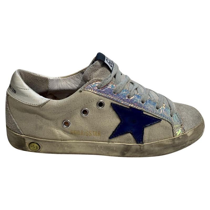 Golden Goose Trainers Cotton in White