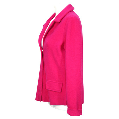 Hobbs Fuchsia wool jacket