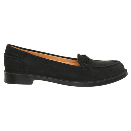 Ludwig Reiter Pennyloafer in nero
