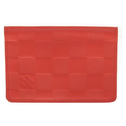 Louis Vuitton Card etui in het rood