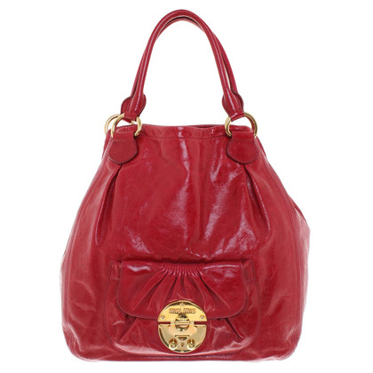 Miu Miu Tote Bag in leather