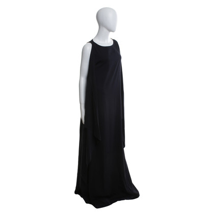 Odeeh Dress in dark blue