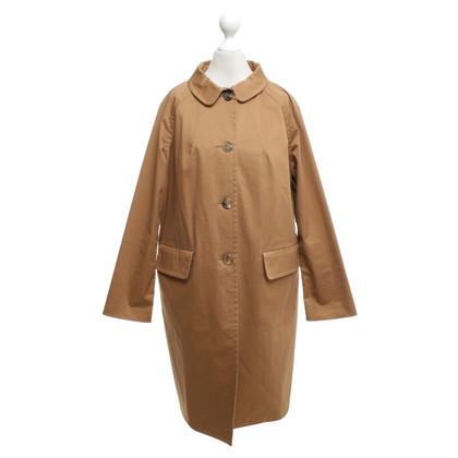 Miu Miu -Camel kleurige jas