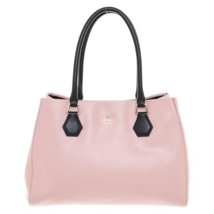 Kate Spade Handtasche in Rosé/Schwarz