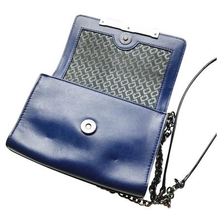 Diane von Furstenberg Schultertasche Blau Angebote Online-Verkauf Gemütlich 5oGBX