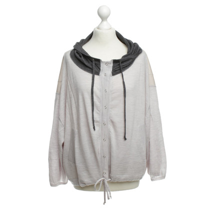 Stefanel Hooded jacket wool/cashmere