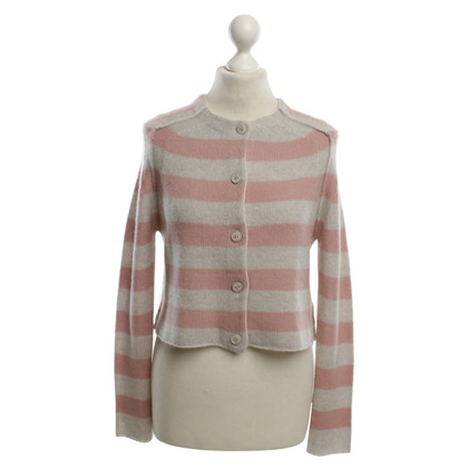 360 Sweater Cashmere sweater with stripes