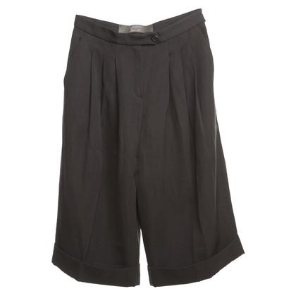 Lanvin pantaloni 3/4 in grigio