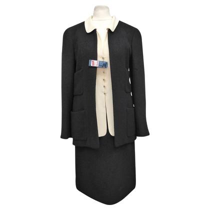 Chanel Kostüm mit Seideneinsatz