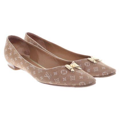 Louis Vuitton Ballerinas with monogram pattern