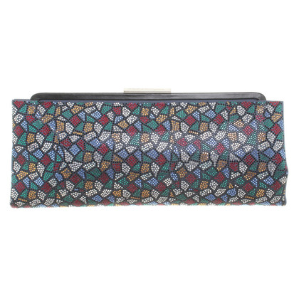 Salvatore Ferragamo clutch with rhinestones