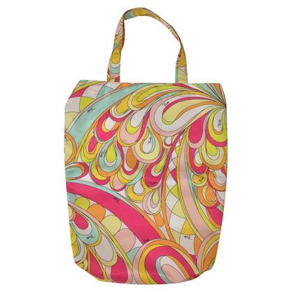 Emilio Pucci Nylon Tote Bag