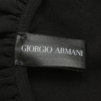 Giorgio Armani top in black