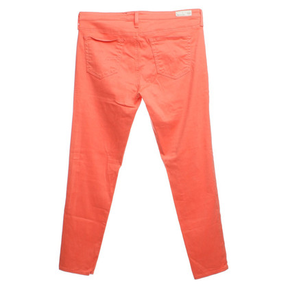 Adriano Goldschmied corail pantalon rouge