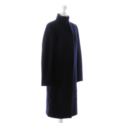 Costume National Cappotto di lana blu