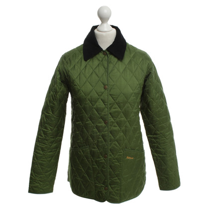 Barbour Jacket with rhombus quilting