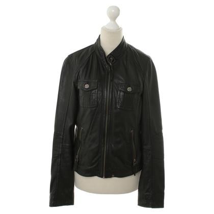 Oakwood La giacca di pelle stile biker