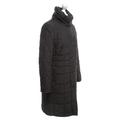 Basler Quilted coat in black / brown