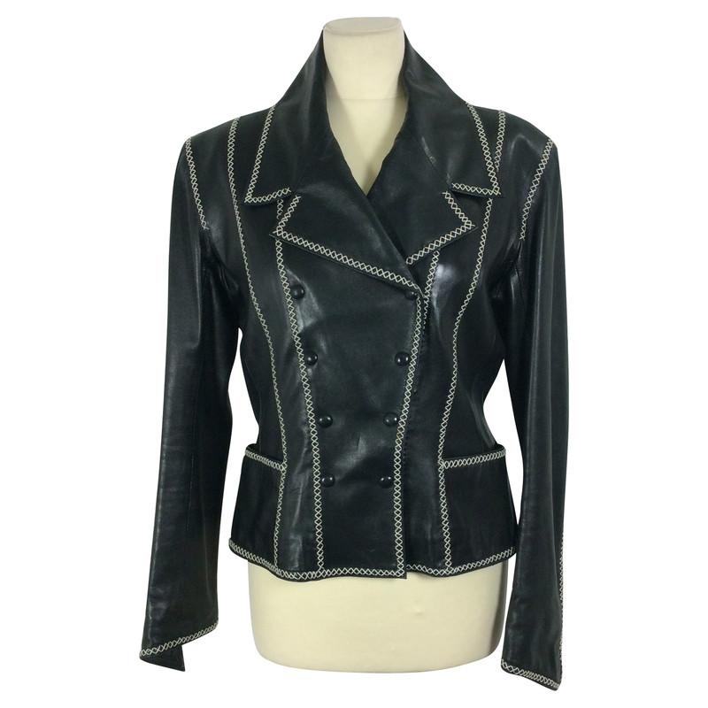 Lagerfeld mantel schwarz