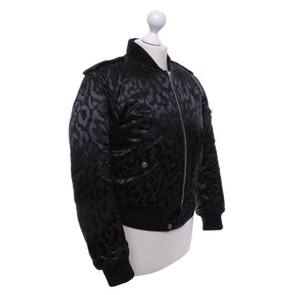 Saint Laurent Jacket with leopard pattern