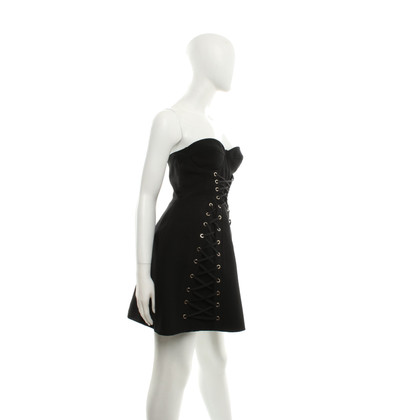 Elisabetta Franchi Black dress in corsage style