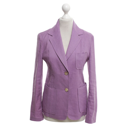Céline Blazer in purple