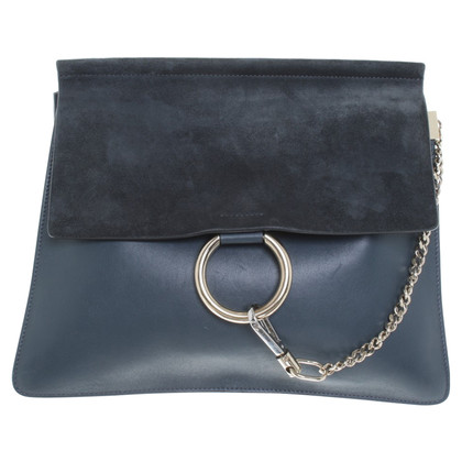 "Chloé ""Faye Bag"" in grey blue"
