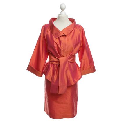 Armani Collezioni  Zijden kostuum in oranje