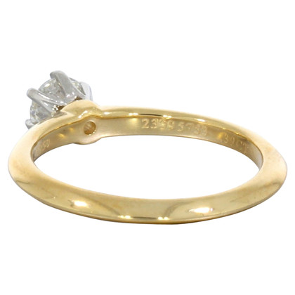 Tiffany & Co. Yellow gold diamond ring