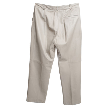 Other Designer St. Emile - lambskin trousers in beige