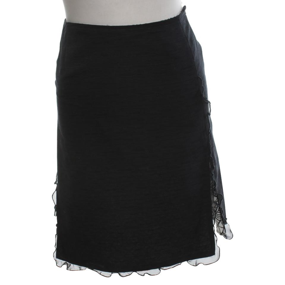 Christian Lacroix skirt in black