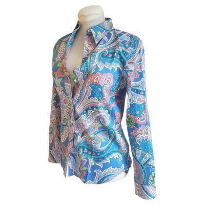Ralph Lauren Paisley-blouse