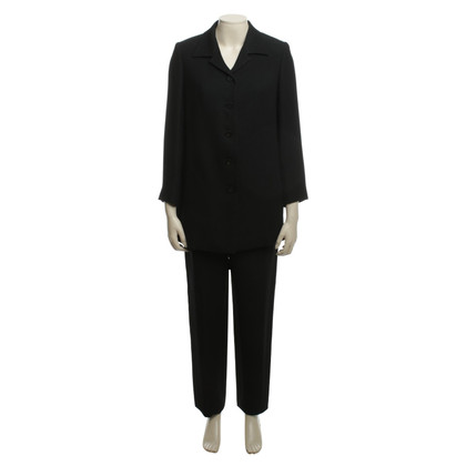 Issey Miyake Trouser suit with frock coat
