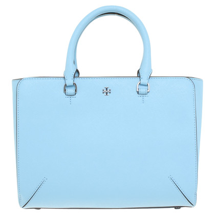 Tory Burch Handtas in lichtblauw