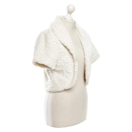 L.K. Bennett Bolero jacket in cream