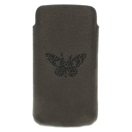 Zadig & Voltaire Cell Phone Holder in Black