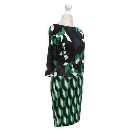 """Diane von Furstenberg Dress """"Helga"""" with pattern"""