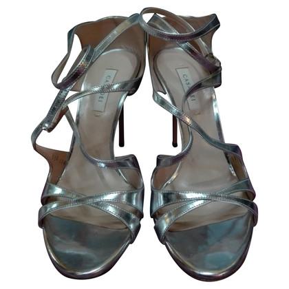 Casadei sandal silver