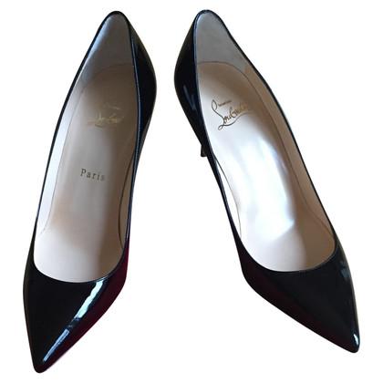 Christian Louboutin scarpe di vernice nera