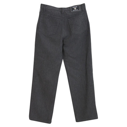 Versace Versace jeans couture gray trousers